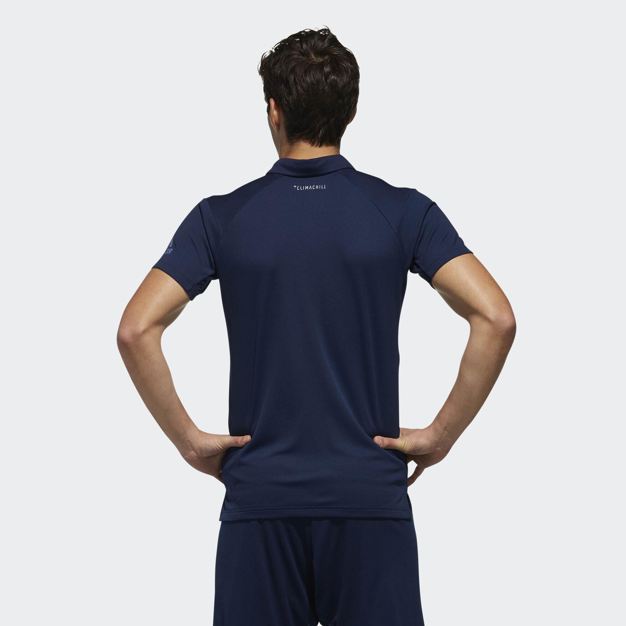 0bdad8929 adidas Climachill Polo Shirt - Blue | adidas Singapore